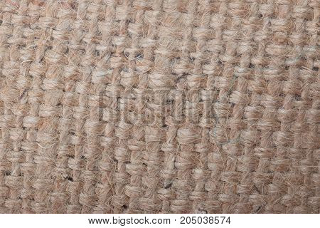 the Brown  Sackcloth texture for the background