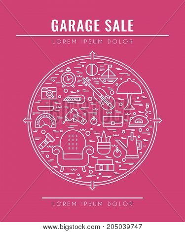 garage sale sign vector photo free trial bigstock