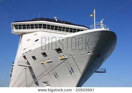 aft of cruise ship