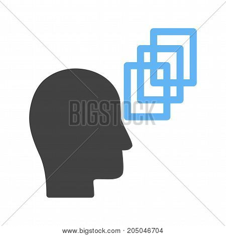 Skills, people, leader icon vector image. Can also be used for soft skills. Suitable for mobile apps, web apps and print media.