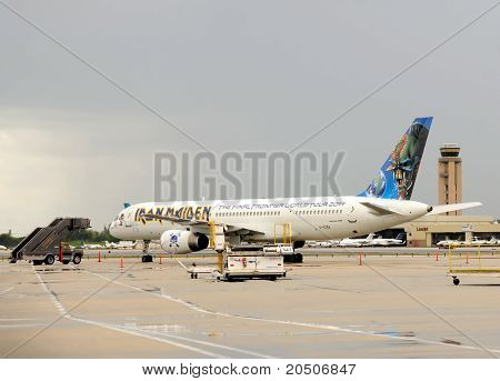 Iron Maiden Jet Airplane