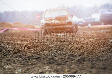 Wreck Car Dirt Race