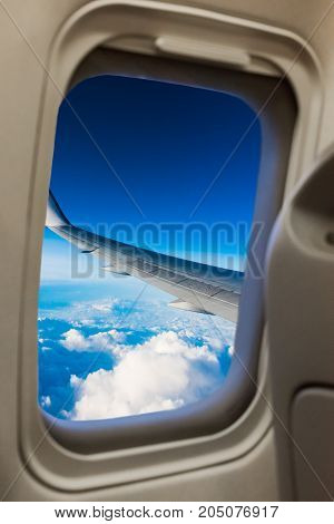 Passenger Airplane Saloon Windows