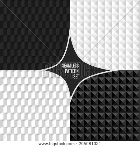 Vector seamless pattern. Abstract stylish background eps10