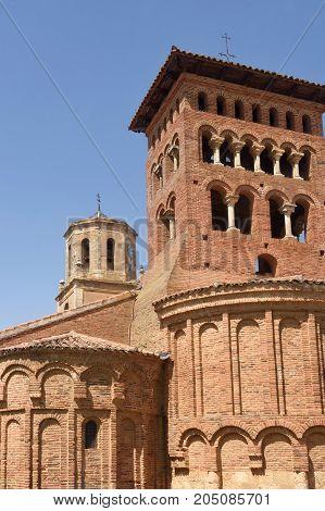Church Of San Tirso In Sahagun, Way Of St. James, Leon, Spain