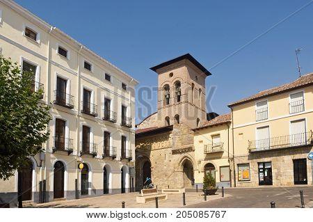 Romanesque Church Of Santiago, Carrion De Los Condes, Palencia Province,spain