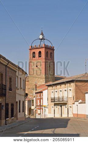 village of Osorna la Mayor Tierra de Campos Region Palencia province Spain