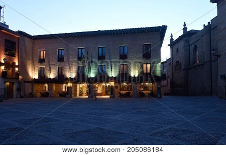 Parador (hospital S. XII) of Santo Domigo de la Calzada La Rioja Spain