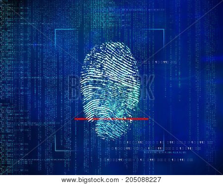 Biometric Identity Control And Approval.