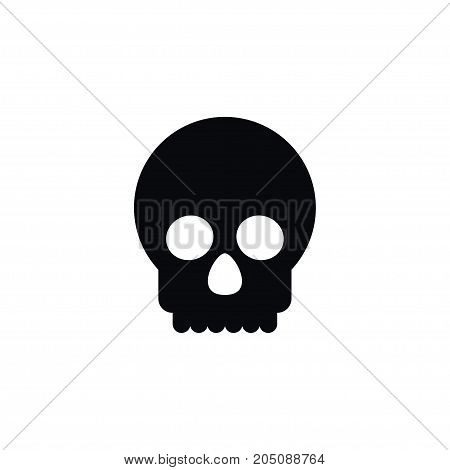 Dead Vector Element Can Be Used For Dead, Skeleton, Bone Design Concept.  Isolated Bone Icon.