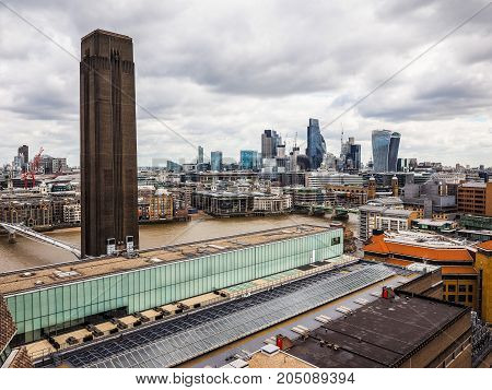 London City Skyline, Hdr