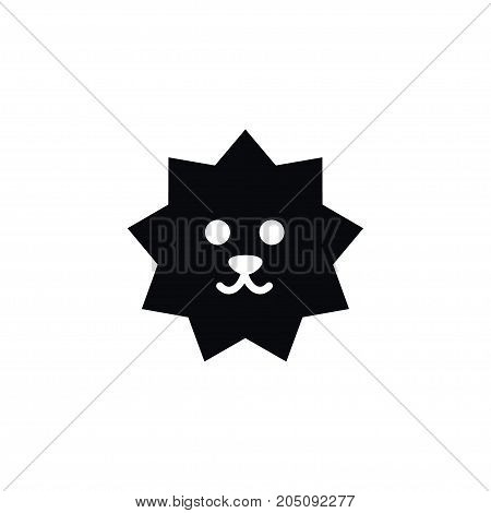 Hedgehog  Vector Element Can Be Used For Crew, Cut, Hedgehog Design Concept.  Isolated Crew Cut Icon.