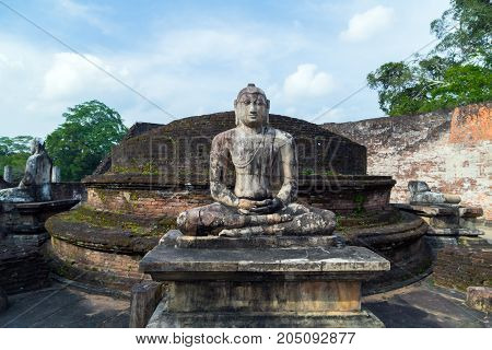 Ancient City Ruins Buddha