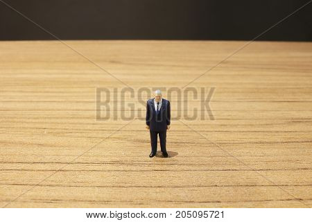 The Fun Of Busines Figure On Table