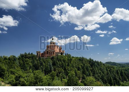 Bologna (Emilia Romagna Italy): the historic Sanctuary of Madonna di San Luca