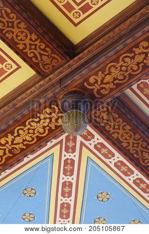 ceiling historical detail interior architecture historic art