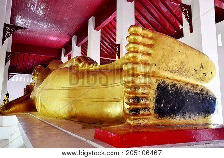 Wat Phra That Chae Haeng Temple In Nan, Thailand