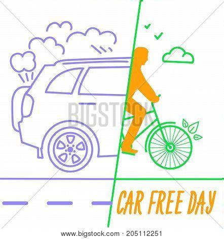 Banner World Car Free Day