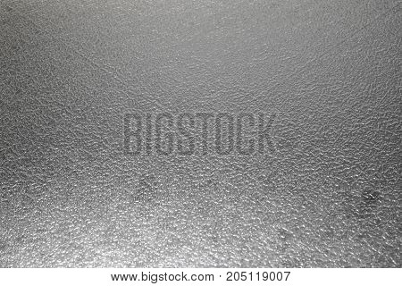 Frosted glass texture as background grey color