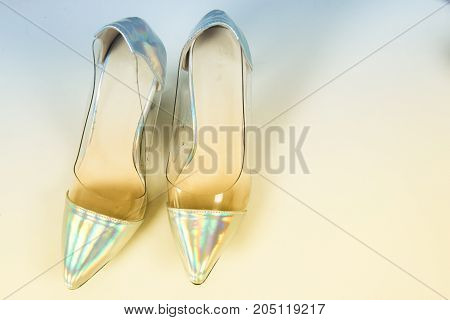 Fashion shoes for the background of the site, booklet, banner