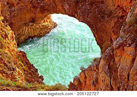 Ponta Da Piedade spectacular rock formations on the Algarve coast