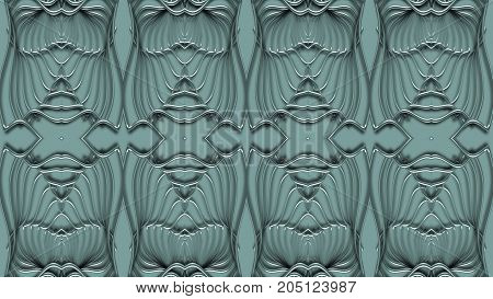 Abstract background in turquoise tones raster image can be used in the design of your site design textile printing industry in a variety of design projects