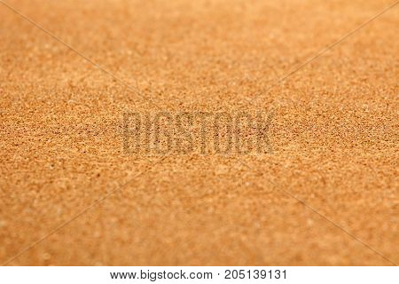 Sand background focus on mid horizontal plane