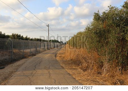 Fence - a structure that serves to protect another's territory.