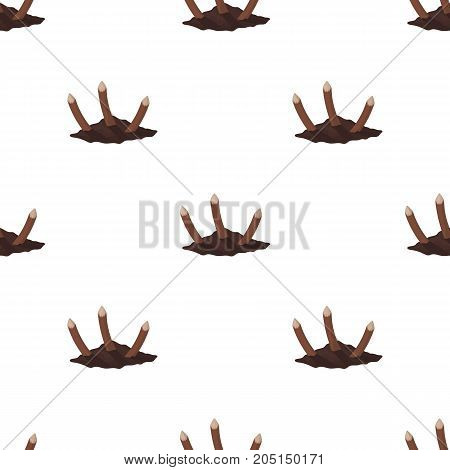 Stakes, single icon in cartoon style.Stakes, vector symbol stock illustration .