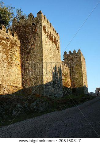 Square Castle Towers