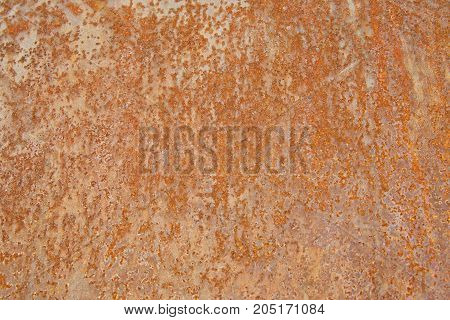 Homogeneous surface of old metal as background