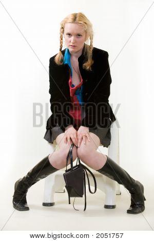Pouting Teen