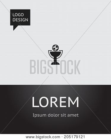 Vector Illustration Of Complicated Symbol On Award Icon