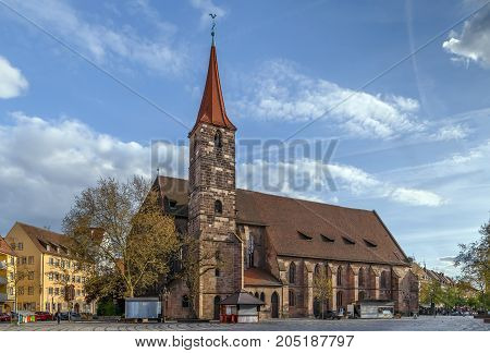 St. Jakob is a medieval church in Nuremberg Germany
