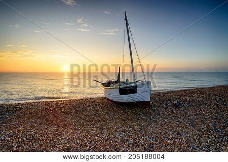 Beautiful Sunrise At Dungeness Beach
