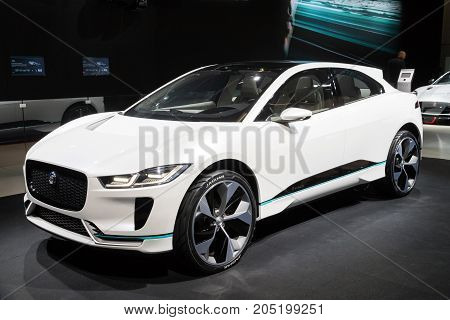 New 2018 Jaguar I-pace Electric Suv Car