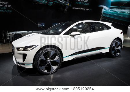 New 2018 Jaguar I-pace Concept Electric Car