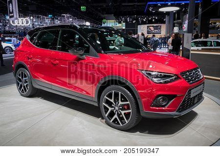 New Seat Arona Compact Suv Car