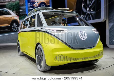 Vw Id Buzz Electic Autonomous Van