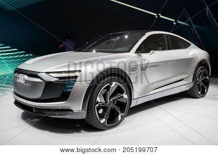 Audi Elaine Concept Autonomous Car