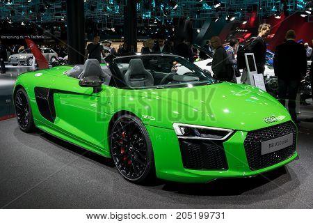 Audi R8 V10 Plus Sports Car
