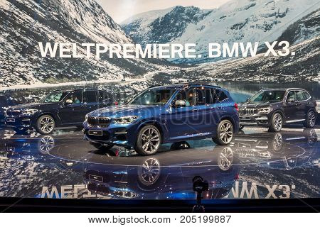 2018 Bmw X3 Suv Car