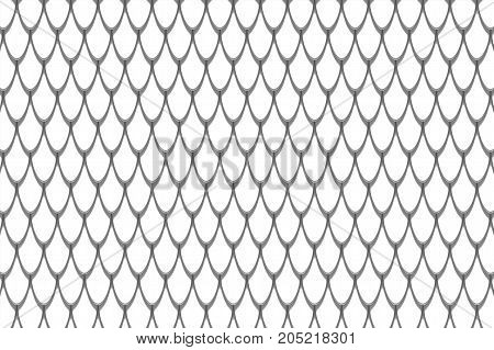 Fish scales background. Animal skin texture. Graphic design element for web, restaurant flyers, food posters, scrapbooking. 3D illsutration