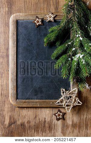 Chalkboard And Christmas Tree