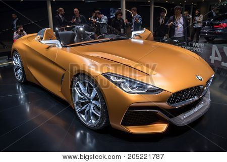 New Bmw Concept Z4 Sports Car