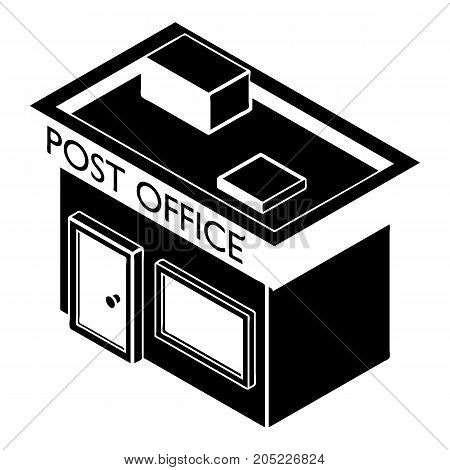 Post office icon. Simple illustration of post office vector icon for web design isolated on white background