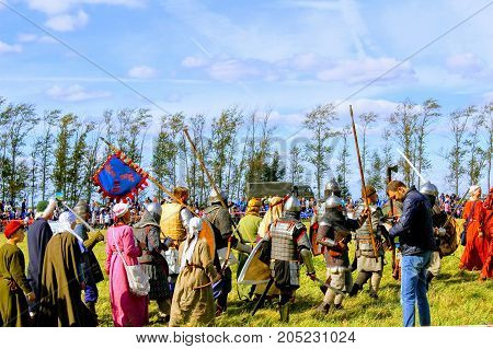 September, 16 2017, Tula, Russia - The International Military and Historical Festival
