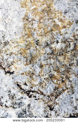 Stone texture background, Black and white marble texture in nature.
