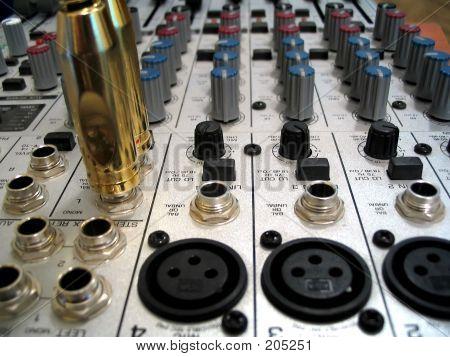 Sound Mixer And Jacks