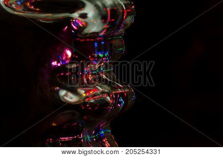 Abstract: Light of Technology Shining in the Blackness